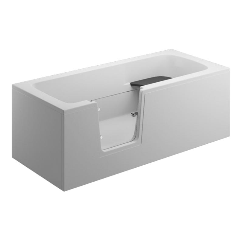 Frontpaneel für VOVO Badewanne 180 cm weiß