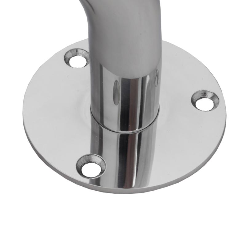 Handlauf für barrierefreies Bad 110 cm aus rostfreiem Edelstahl ⌀ 32 mm