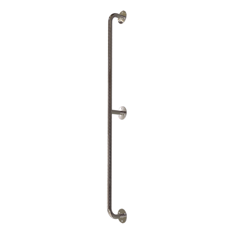 Gerader Handlauf für barrierefreies Bad 140 cm aus rostfreiem Edelstahl ⌀ 25 mm