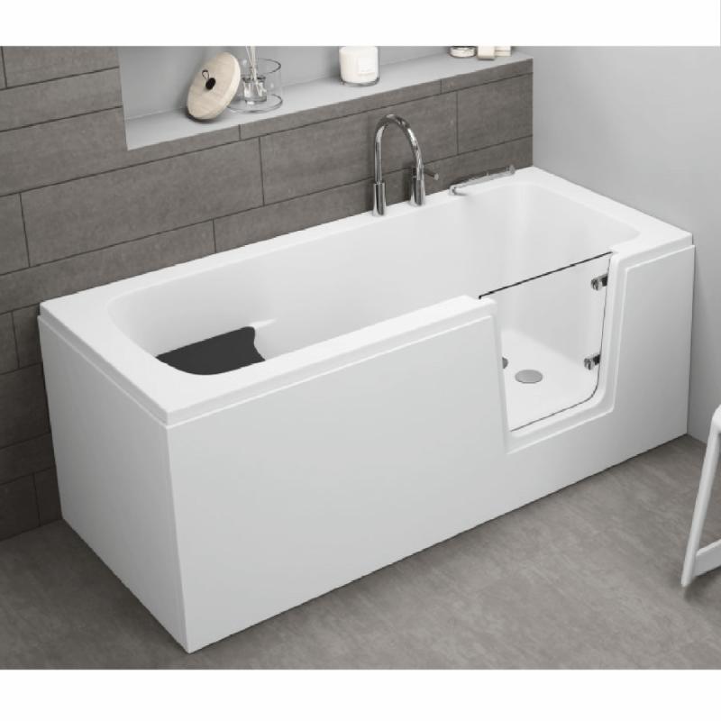 Frontpaneel für AVO Badewanne 140 cm weiß