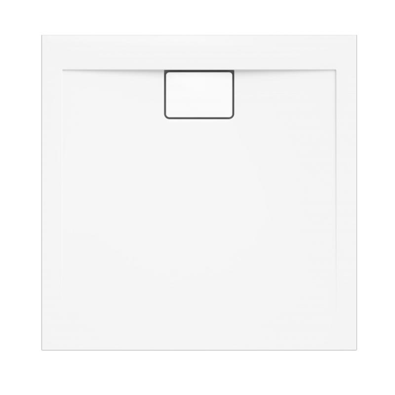 Weiße Duschwanne für barrierefreies Bad 90 x 90 cm