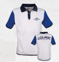 POLO COLMIC (WHITE & BLU) Tg.XXL