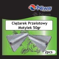 CIĘŻAREK PRZELOTOWY MOTYLEK 50gr (2pz)