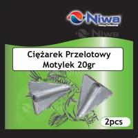 CIĘŻAREK PRZELOTOWY MOTYLEK 20gr (3pz)