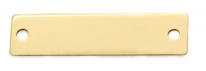 Złota zawieszka 585 grawer
