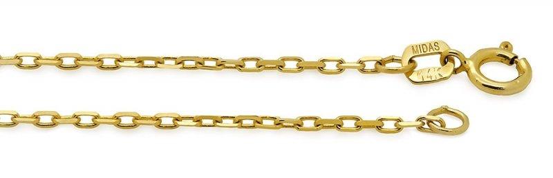 Złoty naszyjnik gwiazd | złota CELEBRYTKA 585 kółeczko z gwiazdką