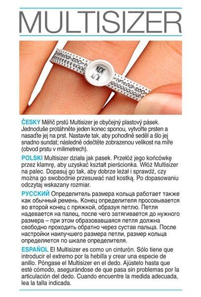 Multisizer poznaj swój rozmiar palca