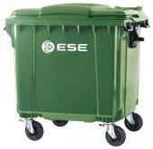 Pojemnik na odpady bytowe MGB 1100 FL (zielony)