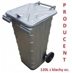 Pojemniki do palenia odpadów SM - 120S