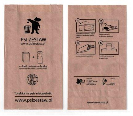 Torebki na Psie odchody ( psiZestaw.pl ) 1000 szt. - konfekcjonowane
