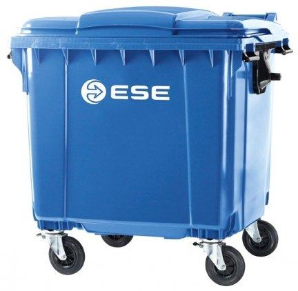 Pojemnik na odpady bytowe MGB 1100 FL ( niebieski )