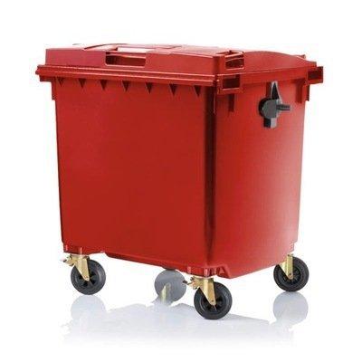 Pojemnik na odpady SULO 1100l Czerwony