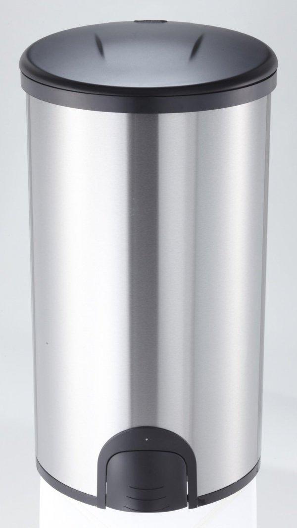 NOWOŚĆ ! Bezdotykowy Kosz na śmieci 45 L Okrągły ( nożny )