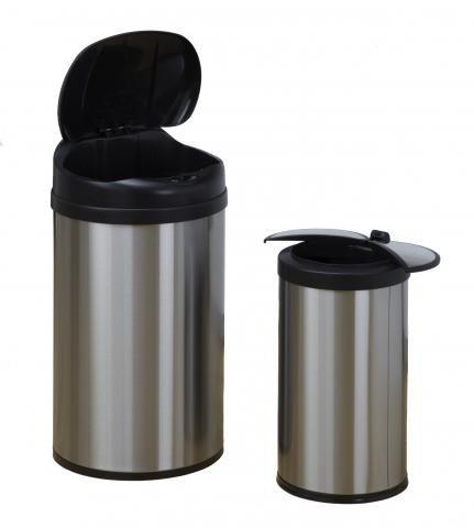 Bezdotykowy Kosze na śmieci, Zestaw 40 L + 12 L , COMBO