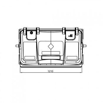 PROMOCJA ! Pojemnik na odpady bytowe MGB 770 (szary)