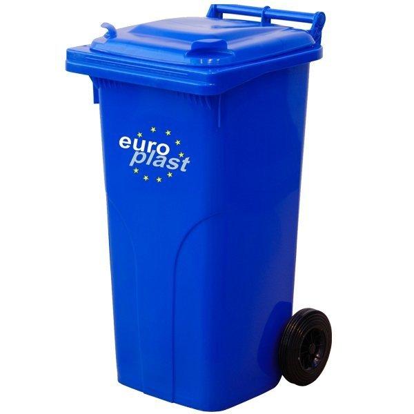 Pojemnik na odpady MGB 120l EUROPLAST Brąz