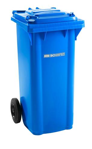 Pojemnik na odpady 120l SSI-Schaefer Plastik i metale