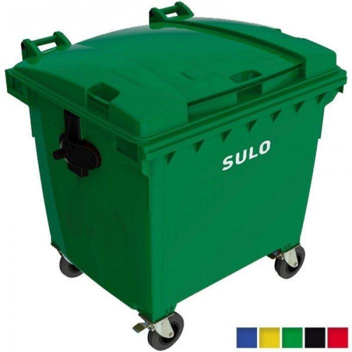 Pojemnik na odpady SULO 1100l Żółty