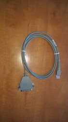 Datalogic kabel RS232 prosty 25 pin, 90G001000