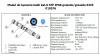 Łącznik mufa 2x gniazdo RJ45 STP kat.6 IP68 wodoodporny