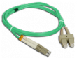 Patchcord FO Duplex 50/125 LC/SC 3m OM3