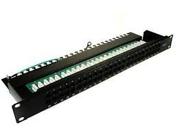 Panel telefoniczny 50xRJ45 kat.3 T-Line TL03