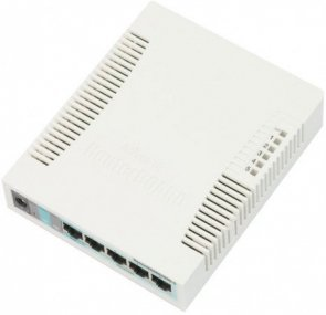 MikroTik RB260GS Switch 5xGLAN + 1xSFP