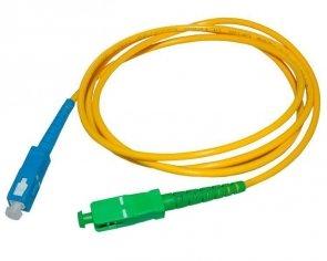 Patch cord SC/APC-SC/UPC simplex SM 2.0m