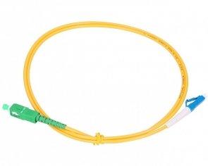Patch cord SC/APC-LC/UPC simplex SM 2.0m