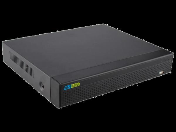 Rejestrator IP 16 kanałowy, obsługujący 2 dyski - AVIZIO BASIC