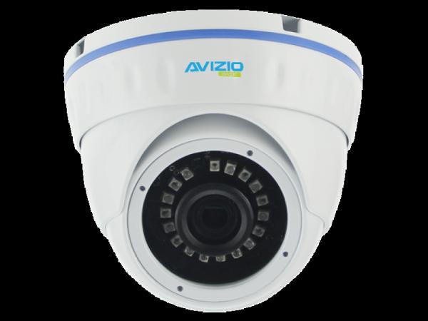 Kamera AHD mini cocon, 3 Mpx, IK10, 2.8mm AVIZIO BASIC