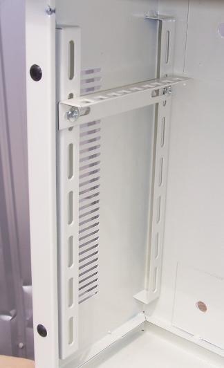 """Szafa 19"""" wisząca 3U 170 GFlex Standard S drzwi metalowe"""