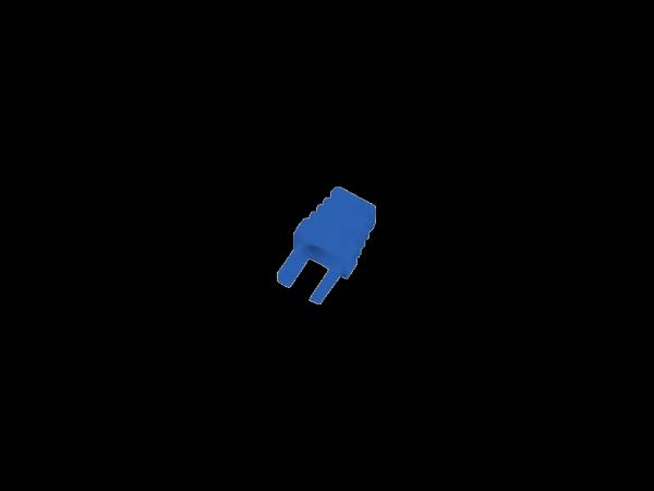 Osłonki wtyku RJ45 niebieska wewnętrzna