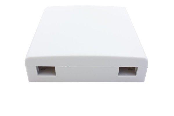 Gniazdo naścienne FTTH 2C bez adapterów T-Line