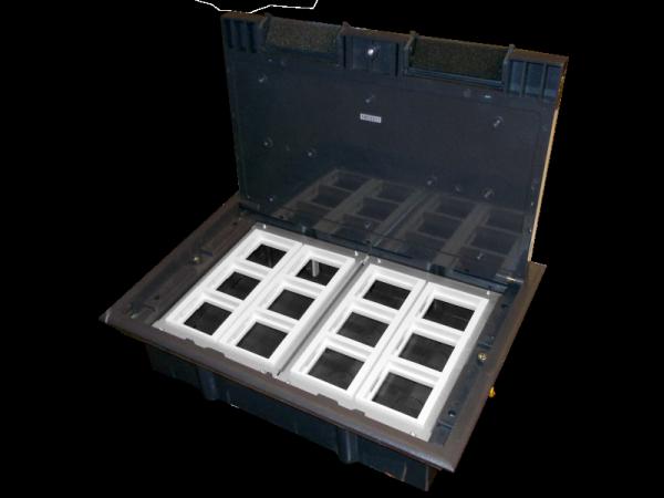 Puszka podłogowa 12M, 12 x (45x45)