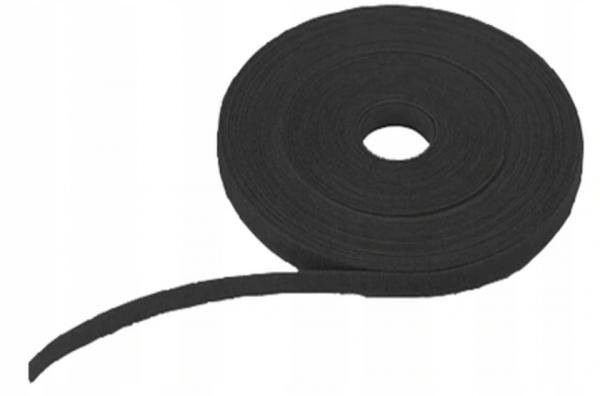 Opaska rzepowa 5m/10mm czarna