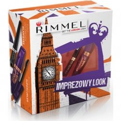 Rimmel Imprezowy Look - Maskara Supercurler + Tusz do Kresek Glam'eyes
