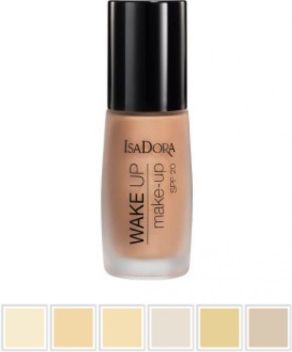 IsaDora Wake Up Make-up SPF 20 podkład 30 ml