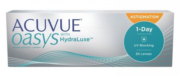 Acuvue Oasys 1 Day for Astigmatism  30szt. +0,25/-1,75/080