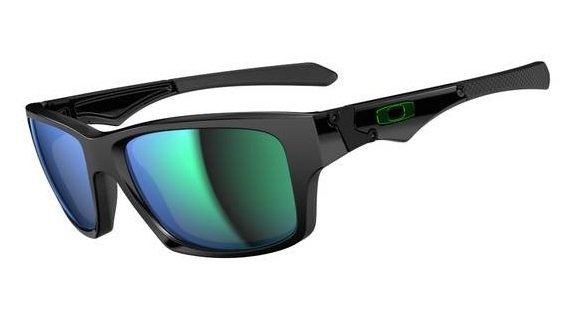 Oakley JUPITER SQUARED Polished Black/Jade Iridium OO9135-05