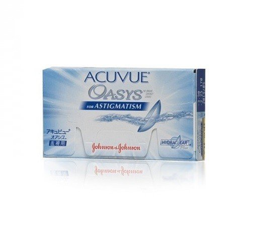 Acuvue Oasys for Astigmatism 1szt. -1,50/-1,75/010