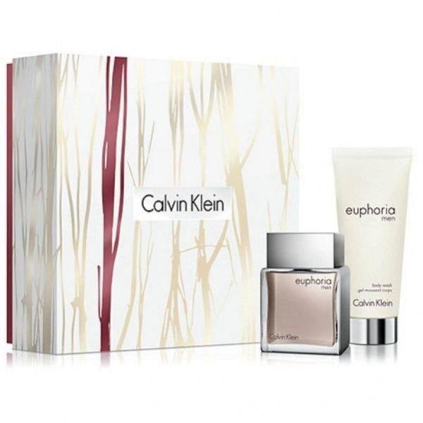 Zestaw Calvin Klein Euphoria Men EdT 50 ml + Body Wash 100 ml