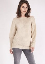 Sweter MKM Beatrix SWE 097 Beżowy