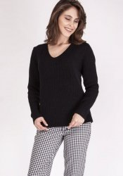 Sweter MKM Victoria SWE 123 Czarny