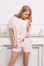 Piżama damska Aruelle Princess Short Pink