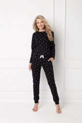Piżama damska Aruelle Dres Hearty Set Black