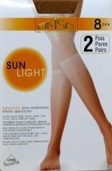 Podkolanówki Omsa  Sun Light 8 den A`2