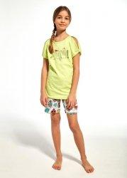 Piżama dziewczęca Cornette Young Girl 242/61 Wow kr/r 134-164