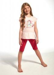 Piżama dziewczęca Cornette Kids Girl 241/60 Unique kr/r 86-128