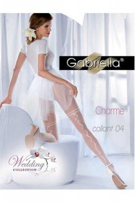 Rajstopy Gabriella 307 charme 04 bianco